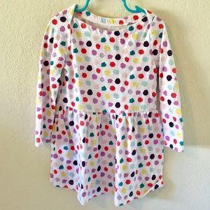 Dots Long Sleeve Dress